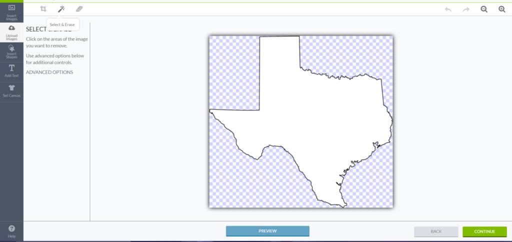texas upload edit