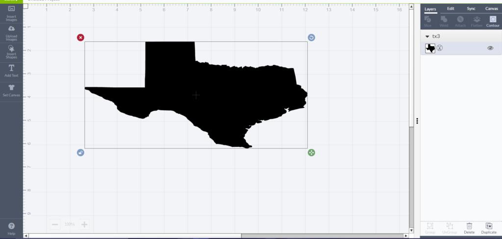 texas resize
