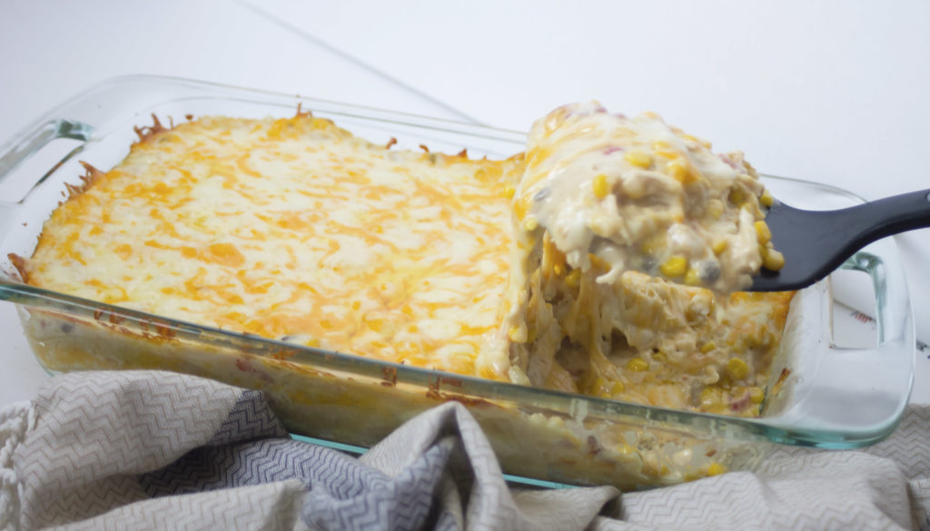 mexican chicken casserole cooked