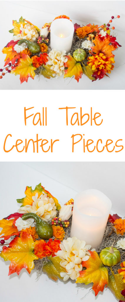 fall table center pieces