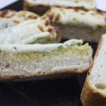 cheesy pesto french bread