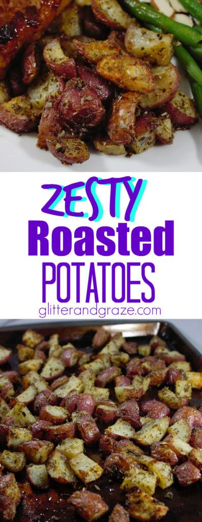 zesty roasted potatoes