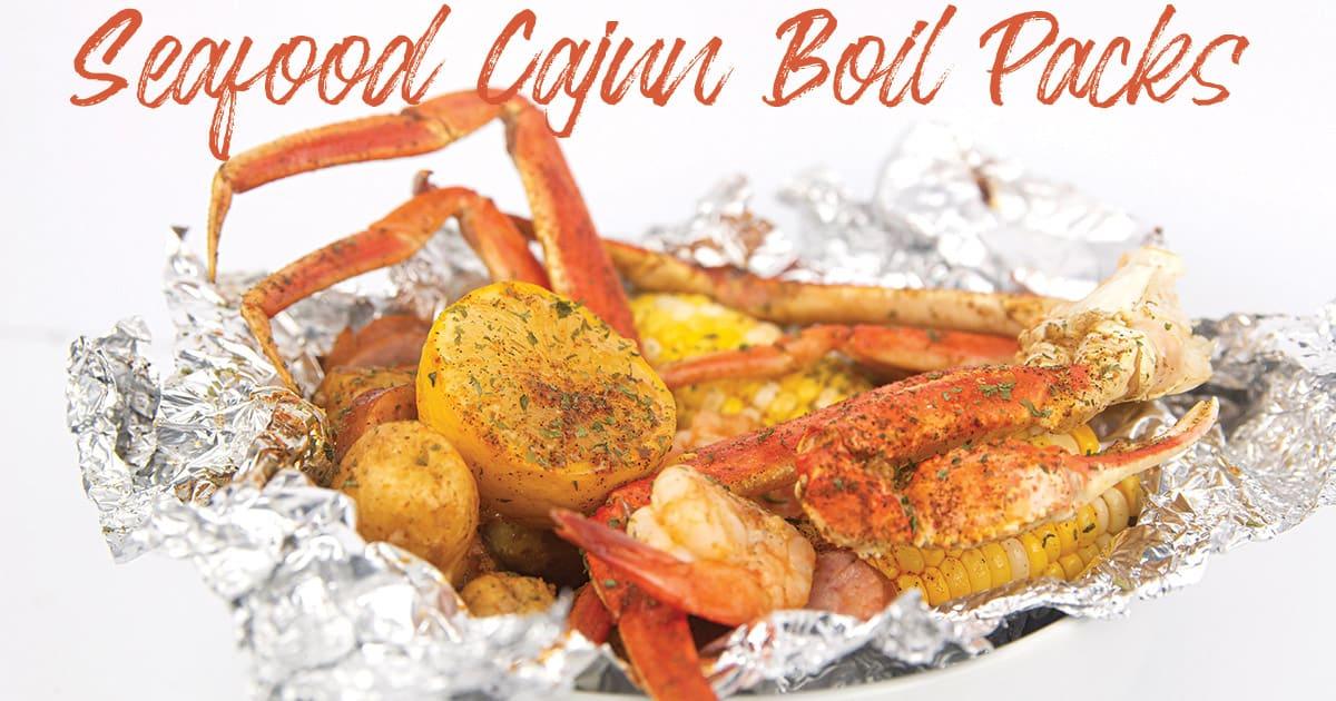 Seafood Cajun Boil Packs Glitter And Graze