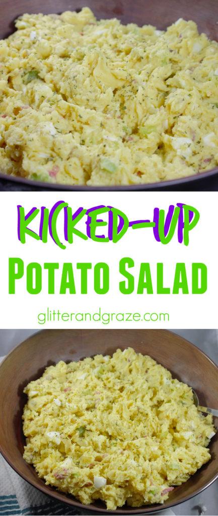 Kicked up potato salad