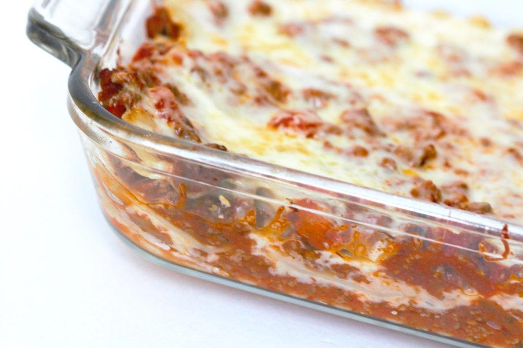 lasagna without ricotta
