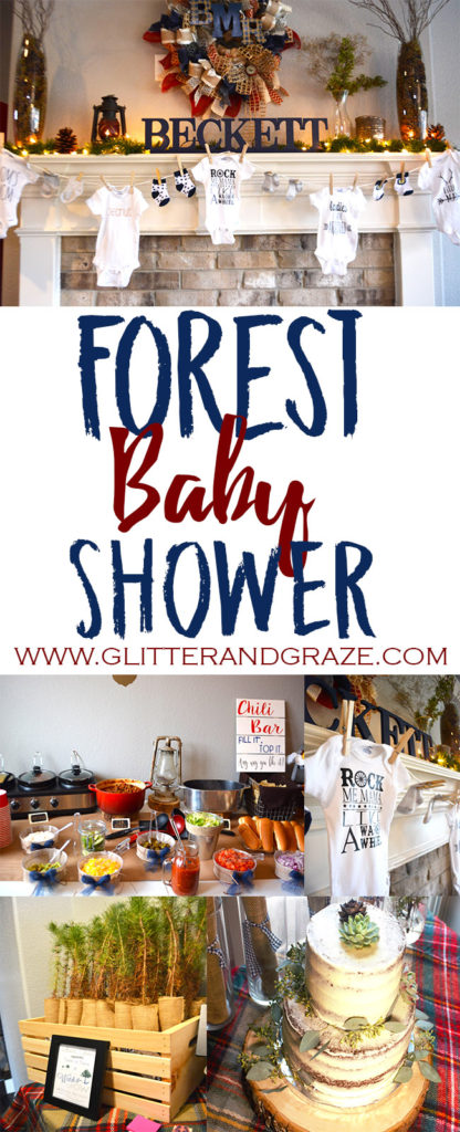 forest baby shower