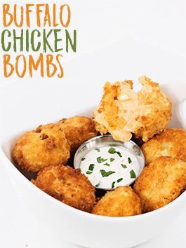 buffalo chicken bombs