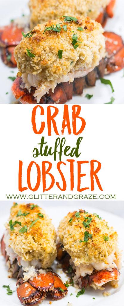 Crab Stuffed Lobsters