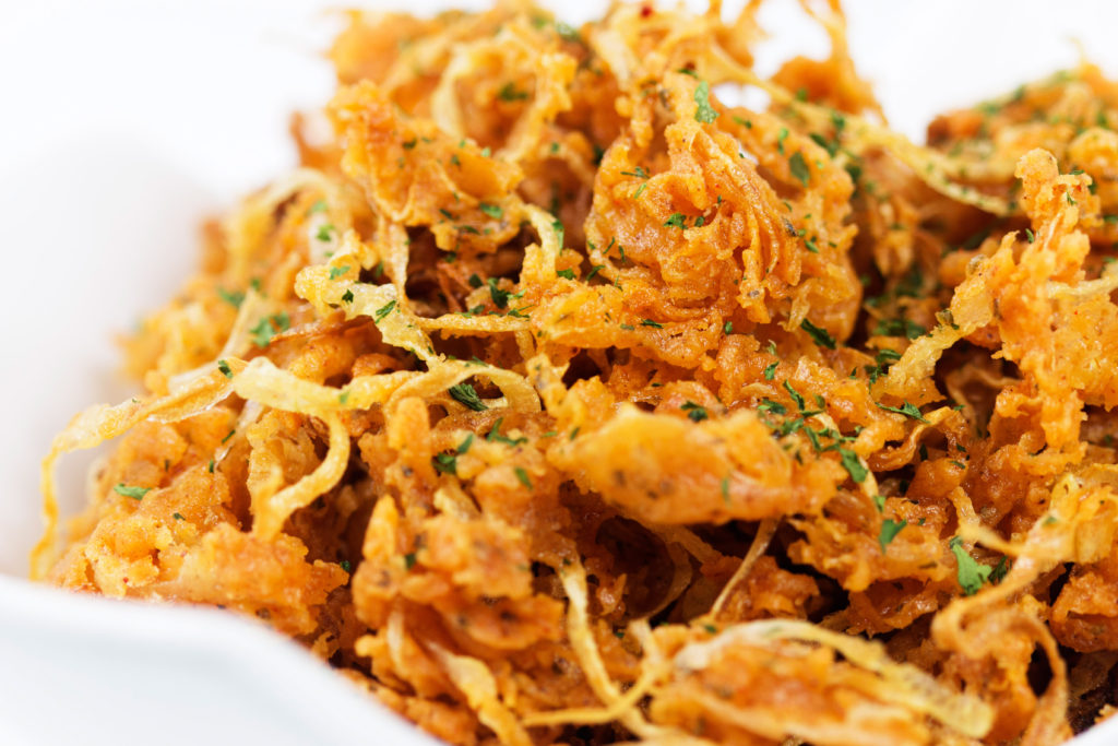 spicy ranch onion fries