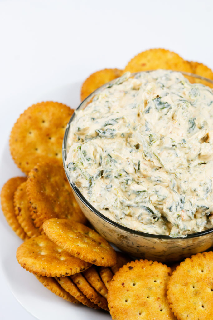 Spicy Ranch Spinach Dip